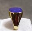 Lápisz lazuli köves pecsétgyűrű_1